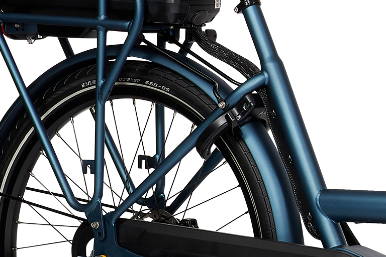 E-Dolly Bakfiets MaxDrive 600Wh Azure Blue