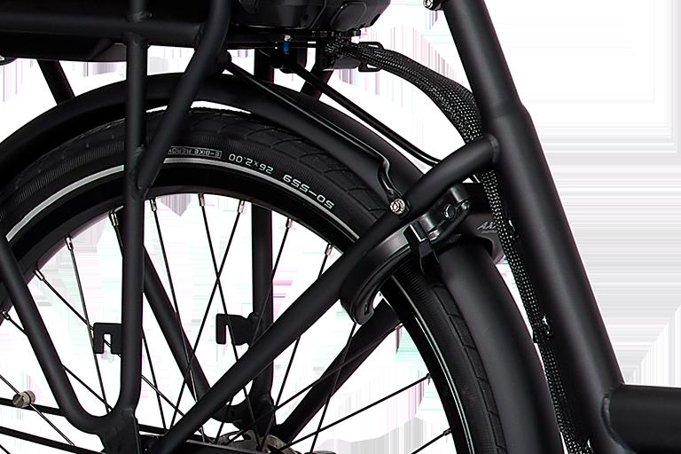 E-Dolly Bakfiets MaxDrive 600Wh Mat Black